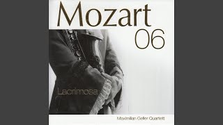 Piano Sonata No. 14 in C Minor, K. 457: I. Molto allegro (Arr. for Jazz Quartet)