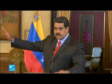 مادورو يدعو إلى انتخابات تشريعية مبكرة لتتزامن مع الاقتراع الرئاسي  - نشر قبل 4 ساعة