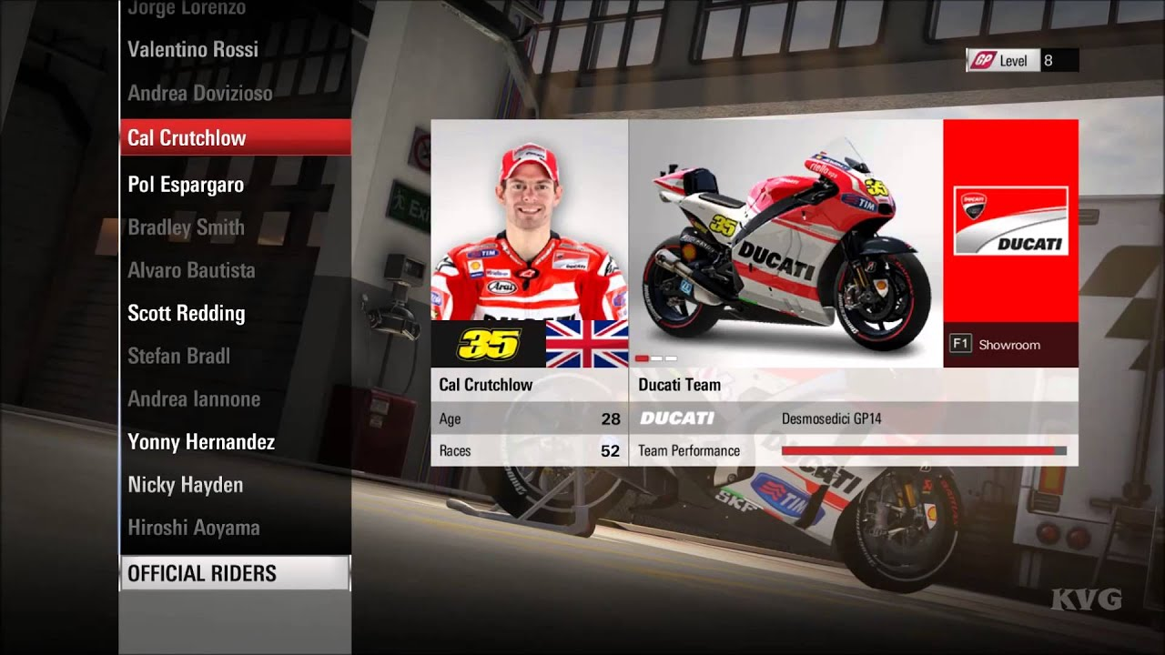 MotoGP 15 - All Riders & Bikes | List (HD) [1080p] - YouTube