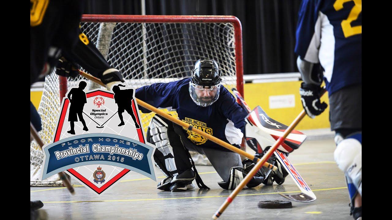 Special Olympics Ontario Floor Hockey Tournament 2015 Youtube