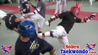 Formidable entrenamiento de Taekwondo con Gabriel Mercedes