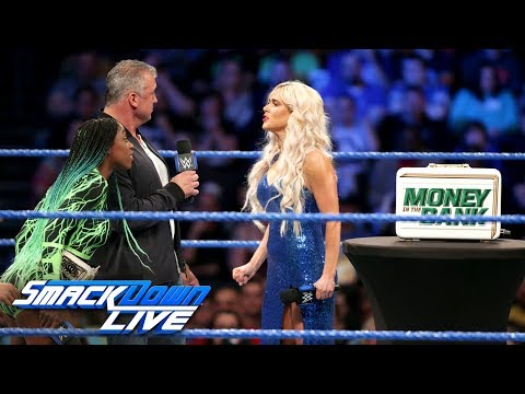 Lana arrives as the Women's Money in the Bank briefcase is revealed: SmackDown LIVE, June 6, 2017
