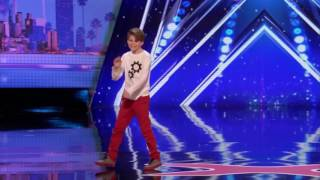 Merrick Hanna: 12-year-old dances to Mask Off - Americas Got Talent