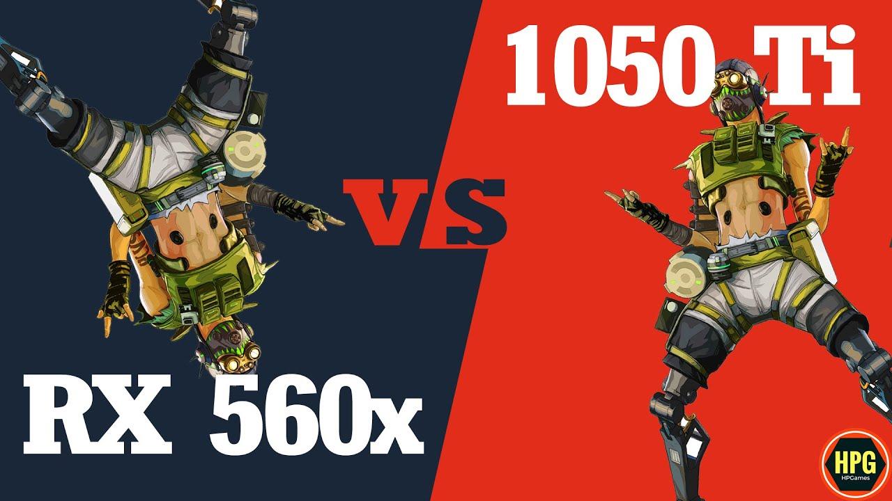 RX 560X vs GTX 1050 Ti 4 GB Benchmark 2019