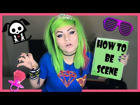 Following a 'How to be Scene' Tutorial I Wrote in 2007 thumbnail