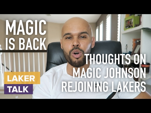 My Thoughts on Magic Johnson Possibly Taking over Lakers BBall Operations #LakerTalk