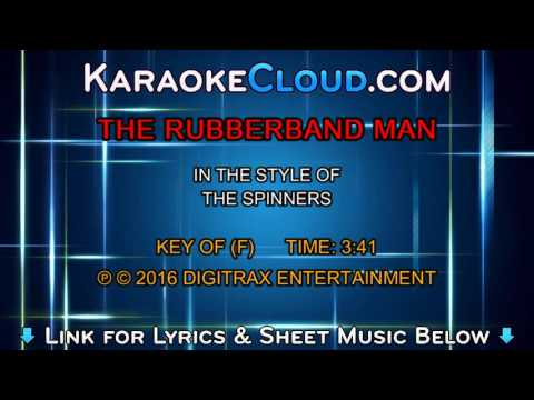 The Spinners - Rubberband Man (Backing Track)