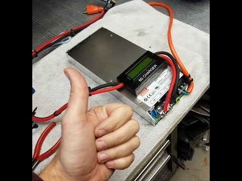 Building a low cost, high power Lithium battery charger