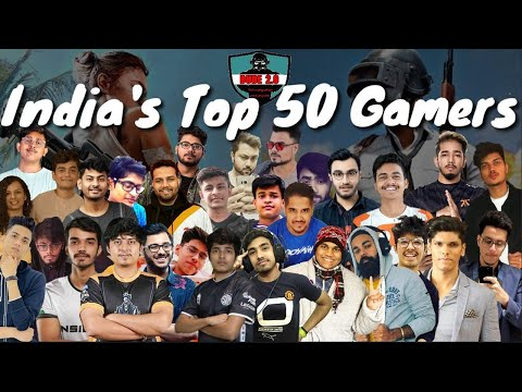 India's Top 50 Gamers | 2021