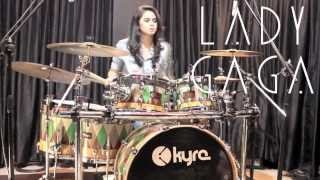 Aura - Lady Gaga (Drum Cover) - Rani Ramadhany