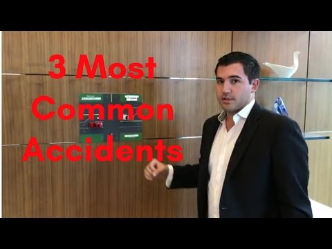 3 Most Common Accidents - And How To Avoid Them