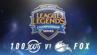 Video 100 vs. FOX - Week 9 Day 2 | NA LCS Spring Split | 100 Thieves vs. Echo Fox(2018) download MP3, 3GP, MP4, WEBM, AVI, FLV Juni 2018