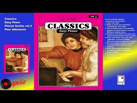 PARTITION - MÉTHODE DE PIANO CLASSIQUE POUR DÉBUTANTS  VOL.3 -   COPPELIA OLIVI