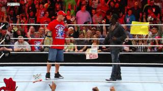 Raw: R-Truth picks on a WWE fan in John Cena gear