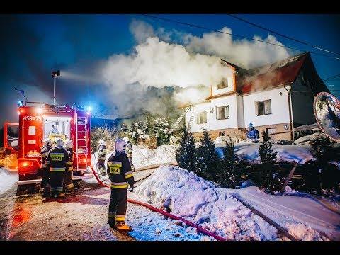 Tragiczny w skutkach pożar domu w Wilczycach