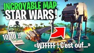Meilleure map de 2020 !! Incroyable cette map Star Wars sur Fortnite Créatif...