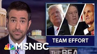 Widening Ukraine Scandal Ensnares Trump Aides And 'Angry' AG | The Beat With Ari Melber | MSNBC