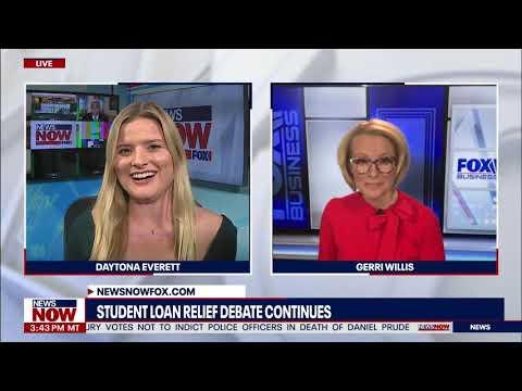 Democrats target Biden over student loan debt forgiveness, Fox Business' Gerri Willis weighs in