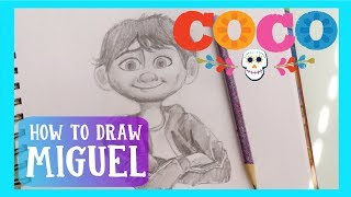 How to Draw MIGUEL from Pixar