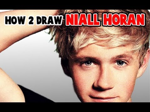 How To Draw Niall Horan From One Direction