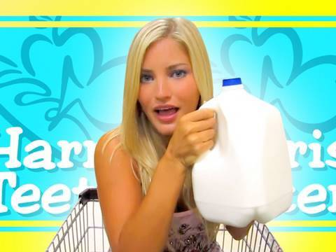 HARRIS TEETER! 2010 | iJustine