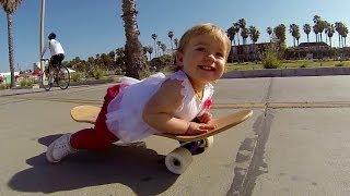 GoPro: Ava, Baby Skateboarder – TV Commercial