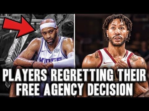 5 NBA Players Regretting Their Free Agency Decision This Season | Vince Carter Riding The Bench?