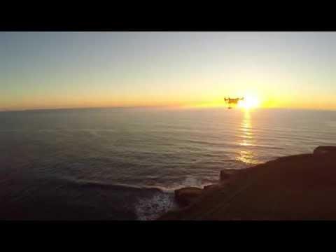 DJI Inspire 1 and Phantom 2 V2 - California Coast Sunset