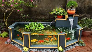 Garden Design Ideas - Turn Ugly Garden Corner Into a Beautiful Waterfall Aquarium Garden