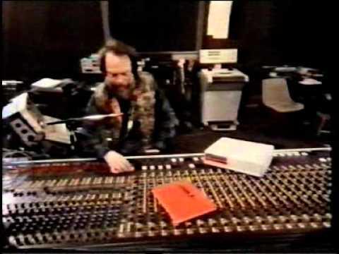 Jethro Tull recording Said She Was A Dancer in the studio