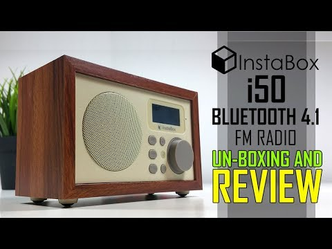 InstaBox i50 Bluetooth 4.1, MicroSD and USB MP3 Player With  FM Radio Review