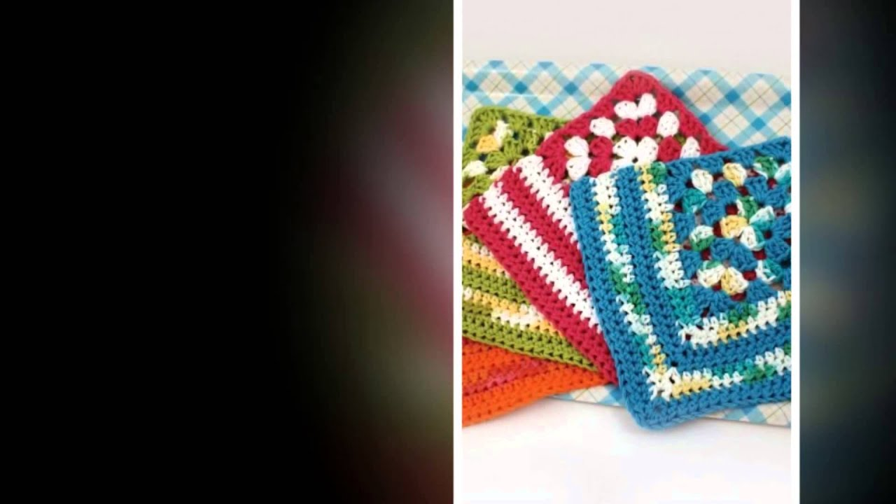 crochet pattern for bible cover - YouTube