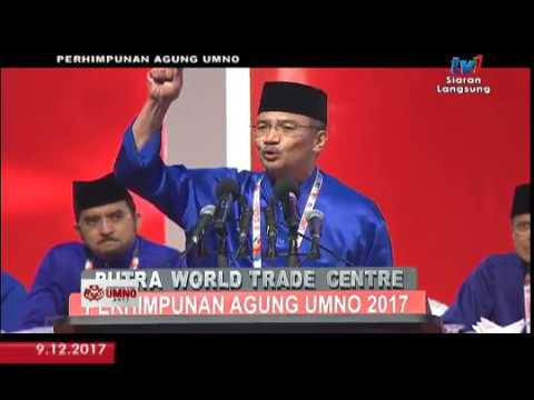 PAU 2017 PENGGULUNGAN: NAIB PRESIDEN UMNO [9 DIS 2017]