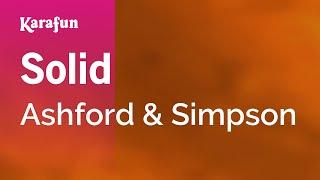 Karaoke Solid - Ashford & Simpson *