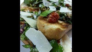 Gourmet Bruschetta Recipe   Breakfast, Lunch, and Dinner   August Cooking   Vegetarian Recipe