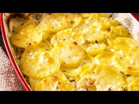 recette-:-gratin-de-pommes-de-terre-et-champignons