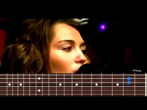 Miley Cyrus - The Climb chords - YouTube