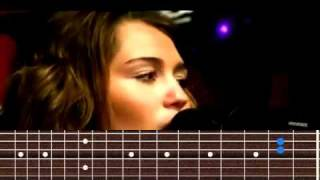 Miley Cyrus - The Climb chords