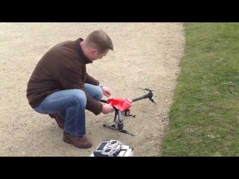 Maiden Flight Multicopter SPY 750  Sky-Hero - HD quality