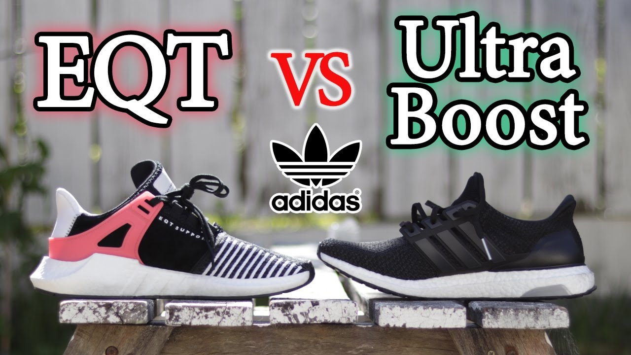 reputable site cb1a7 bbb0b Adidas EQT 93/17 vs Ultra Boost | What's the Difference and Comparison