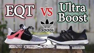adidas eqt 93 17 vs ultra boost   what s the difference and comparison