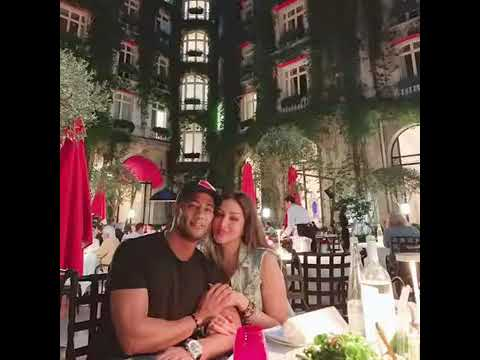 محمد رمضان وزوجته واولاده  - YouTube