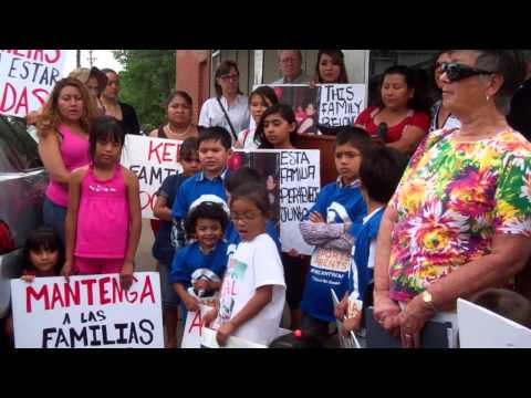 Rights for All People member impacted by deportation speaks