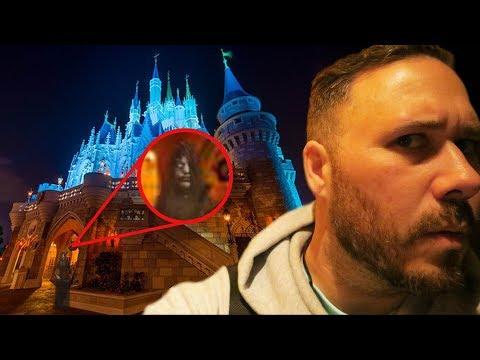 Exploring Disney World ALONE At 3AM (HAUNTED) | OmarGoshTV