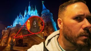 Exploring Disney World ALONE At 3AM (HAUNTED)