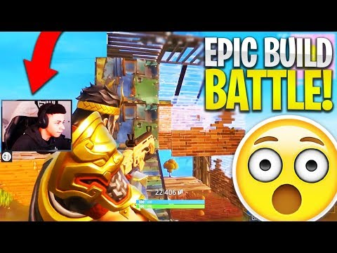 EPIC BUILD BATTLE vs. TSM MYTH! (Fortnite: Battle Royale EPI
