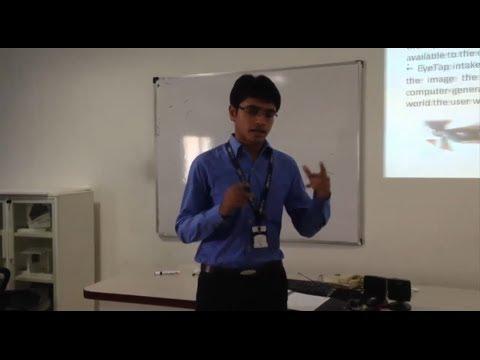 ILDC Student Sagar Gondaliya Presentation on Google Glass