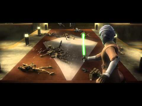 Star Wars: The Clone Wars - Savage Opress vs. Halsey [1080p]
