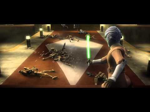 Star Wars: The Clone Wars - Savage Opress vs. Halsey [1080p]