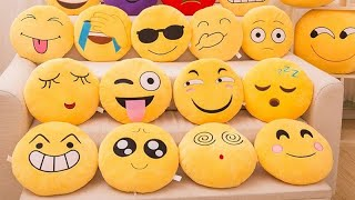 Smileys Emojis Cushion Unboxing and review from Flipkart